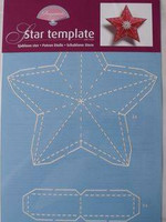 Star Template A4 -sabluuna