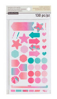 Recollections Creative Year Washi Stickers: Warm Basics - tarrapakkaus