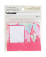 Recollections Sticky Notes: Warm Matchbook Geometric Sticky Notes