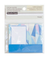 Recollections Sticky Notes: Cool Matchbook Geometric Sticky Notes