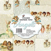 Angels 8x8 - paperikokoelma