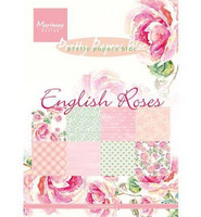 English Roses  A5 - paperipakkaus
