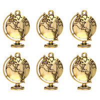 Globe Charms  -metallikoristeet