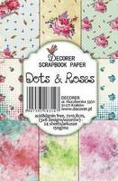 Dots & Roses - minipaperisetti