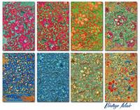 Vintage Fabric - minipaperisetti