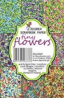 Tiny Flowers - minipaperisetti