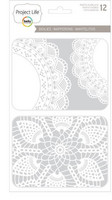 Doilies Photo Overlays