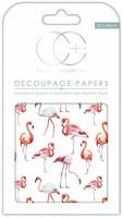 CC Decoupage Paper: Flamingos