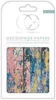 CC Decoupage Paper: Textured Wood