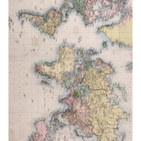 CC Decoupage Paper: World Map 1