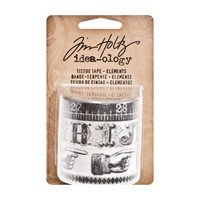 Tim Holtz Design Tissue Tape: Elements