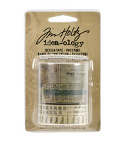 Tim Holtz Design Tape: Passport