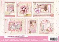 Christmas Romance Foiled A5  - korttikuvalehtiö