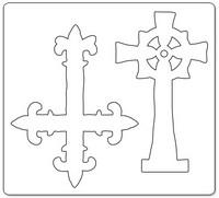Sizzix Bigz: Gothic Crosses -stanssi