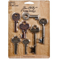 Tim Holtz Idea-ology: Word Keys