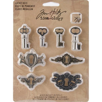 Tim Holtz Idea-ology: Locket Keys
