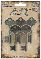 Tim Holtz Idea-ology: Word Keys Halloween