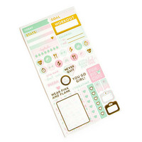 Recollections Planner Stickers:  Uptown Chic Fitness - tarrapakkaus