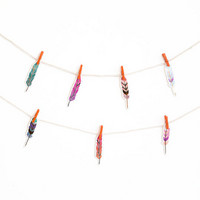 Recollections Feather Mini Garland -pakkaus