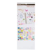 Creative Year Basics Sticker Book -tarralehtiö