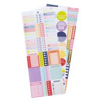 Creative Year Budget Sticker Book -tarralehtiö