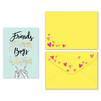Lady Jayne Notecards & Envelopes: Friends Forever