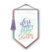 Lady Jayne Banner Decor: More Glitter