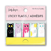 Lady Jayne Sticky Flags: Less Cat Calls