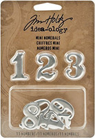 Tim Holtz Idea-ology: Mini Numerals