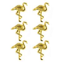 Spare Parts: Gold Flamingo Brads