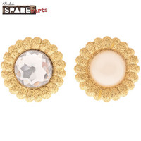 Spare Parts Gold Glitter Bling Brads
