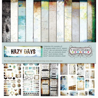 Hazy Days 12x12 Collection Kit - kokoelma