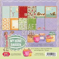 My Home Garden 12x12 - paperikokoelma