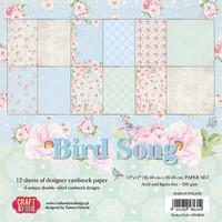 Bird Song 12x12 - paperikokoelma