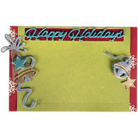 Happy Holidays Gift Card Holder - stanssisetti VIIMEINEN KAPPALE