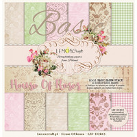 House of Roses Vol 2 Basic 12x12 - paperikokoelma