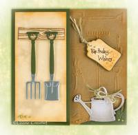 Leabilities: Garden Tools -stanssisetti