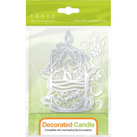 Rococo Decorated Candle -stanssi