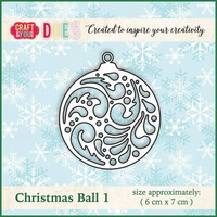 Craft & You: Christmas Ball 1 -stanssi