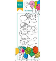 Hetty's Border :Balloons- leimasin