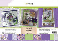Sweet Violets A4 - lehtiö