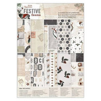 Festive Fauna A4 Ultimate Die-cut & Paper Pack