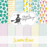 Summertime 12x12 - paperikokoelma