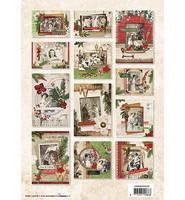 Vintage Christmas  - korttikuvalehtiö
