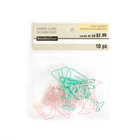 Recollections Creative Year Paper Clips: Uptown Chic