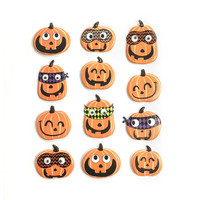 Halloween Puffy Stickers: Pumpkin