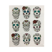 Halloween 3D Stickers: Day of the Dead