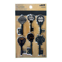 Halloween Key Embellishments