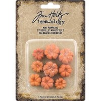 Tim Holtz Idea-ology: Mini Pumpkins