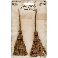 Tim Holtz Idea-ology: Broomsticks